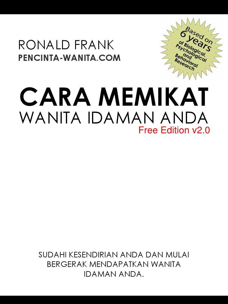 Cara Memikat Wanita Idaman Anda (Ronald Frank) Free Edition 065e02d487