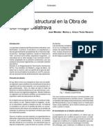 Obra Calatrava Estructura