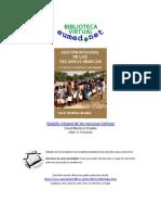 Martinez, Coral, Gestion Integral de Los Recursos Hidricos