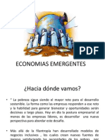 ECONOMIAS EMERGENTES