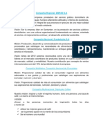 análisis mision y vision empresas multinacional, multilatina, nacional, regional