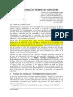 TEORÍAS DEL CURRÍCULO Y CONCEPCIONES CURRICULARES (1)