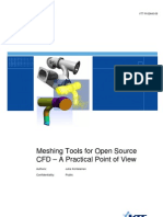 Meshing Tools for Open Source CFD – A Practical Point of View