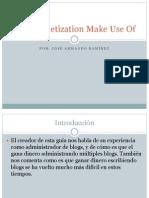presentacion informatica  monetization