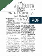 The Plain Truth Magazine- April, 1938 (Vol 3 No 04)