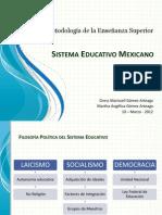 Sistema Educativo Mexicano OK