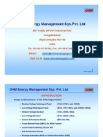 OHM Energy Brochure