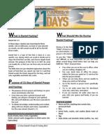 daniel fasting 21 days