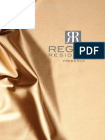 Regent Residences Singapore - eBrochure & Floor Plan