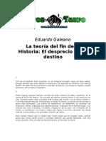 Galeano, Eduardo - La Teoria del Fin de la Historia,.doc