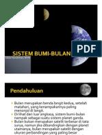 Sistem Bumi Bulan