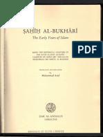 Sahih Al-Bukhari the Early Years of Islam 1