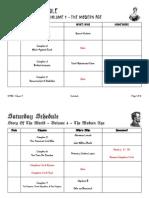 STOW - Vol. 4 - Schedule