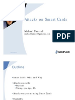Attacks On Smart Card