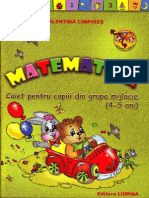 Matematica - Caiet pentru 4-5 ani