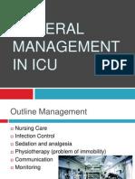 General Management in ICU