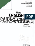 NEF Advanced Teacher's Book