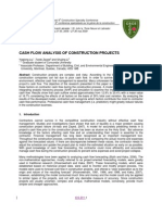 CASH FLOW ANALYSIS OF CONSTRUCTION PROJECTS