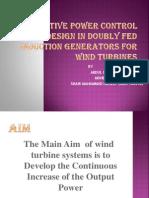 Ppt on Wind Turbine