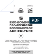 RELEVANCE OF DIVIDEND POLICY FOR FOOD INDUSTRY CORPORATIONS IN SERBIA