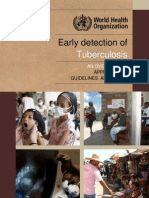 Early Detection of TB