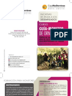 Aula Cultura-Torrent. Curso Guía-Monitor de Ornitología. Febrero/Marzo 2013. Obra Social. Caja Mediterráneo