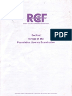 UK Amateur Radio Foundation Licence Resource Booklet