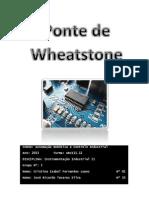 Trabalho Final Ponte Wheatstone - Grupo 5