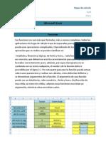 Microsoft Excel y Ofice Funciones Varo