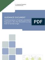 instructiuni de implementare a reglementarii 853 din 2004