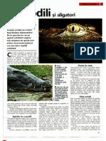 Crocodili si aligatori