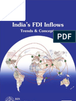 India's FDI Inflows-Trends and Concepts