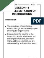 MELJUN CORTES REPRESENTATION OF INSTRUCTIONS Rm104tr-11