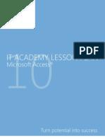 MELJUN CORTES Microsoft Access 2010 Lesson Plan