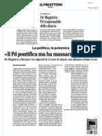 Rassegna Stampa 01.02.13