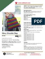 Wavy Shoulder Bag