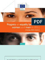 Progress on Equality Between Women and Men in 2011