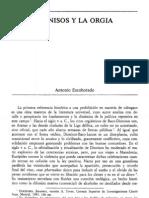 Escohotado, Antonio - Dionisos y la orgía [1986].pdf
