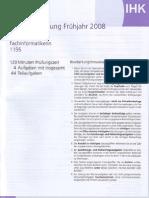 FISI Zwischenprüfung 2008
