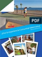 Catálogo de ofertas turísticas Vive la experiencia Comunitat Valenciana