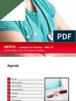 Merck Case Analysis