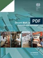decent work indicators