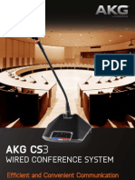AKG CS3 Discussion System