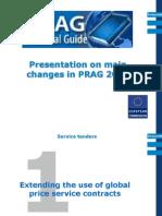 Modification PRAG 2012