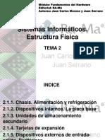 PRESENTACION TEMA 2 Fundamentos Hardware