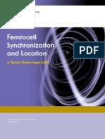 Femtocell Synchronization