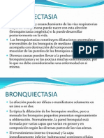 Bronquiectasia. Francis Padron.ppt