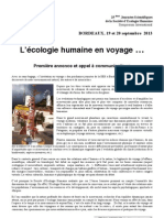 SEH2013 Voyages Appel Interventions