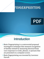 brain fingerprinting ppt