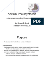 artificial photosynthesis.